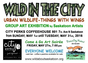 2016 wild in the city postcard